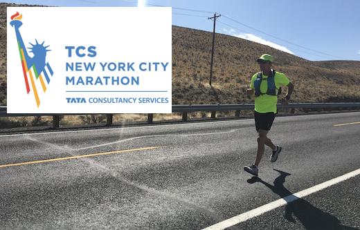 See Mike run a marathon